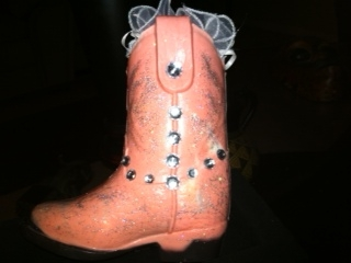 Chocolate Cowboy/Cowgirl Boot